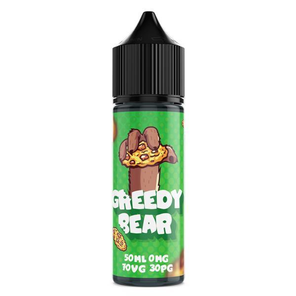 Greedy Bear Shortfill E-liquid 50ml, Cloud Vaping UK
