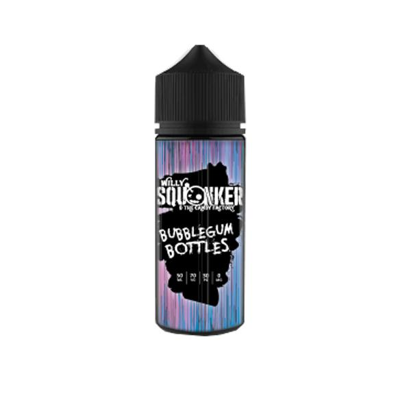 Willy Squonker and the Candy Factory 0mg 100ml Shortfill E-liquid, Cloud Vaping UK