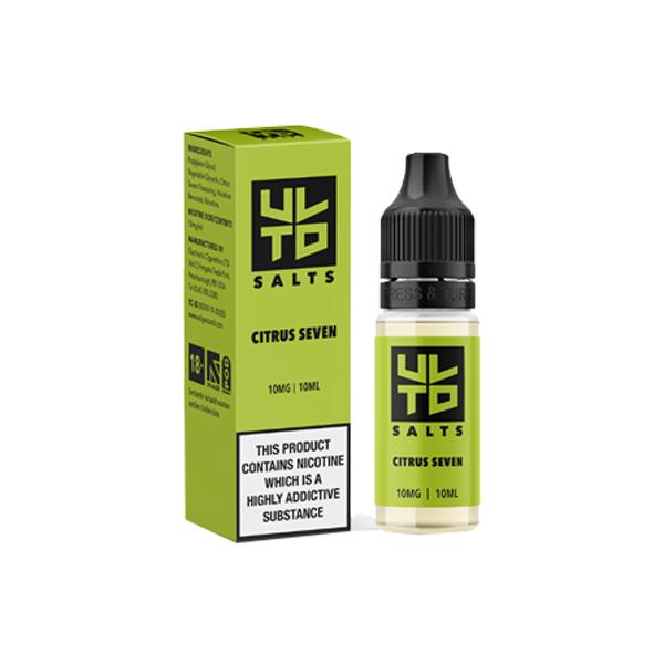 ULTD 10Mg Nic Salt 10ml E-liquid, Cloud Vaping UK