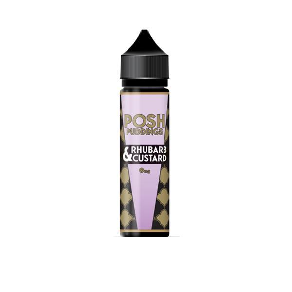 Posh Puddings Shortfill E-liquid 50ml, Cloud Vaping UK