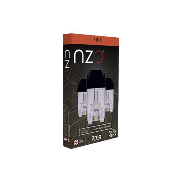 NZO 20mg Salt Cartridges with Pacha Mama Nic Salt E-liquid, Cloud Vaping UK