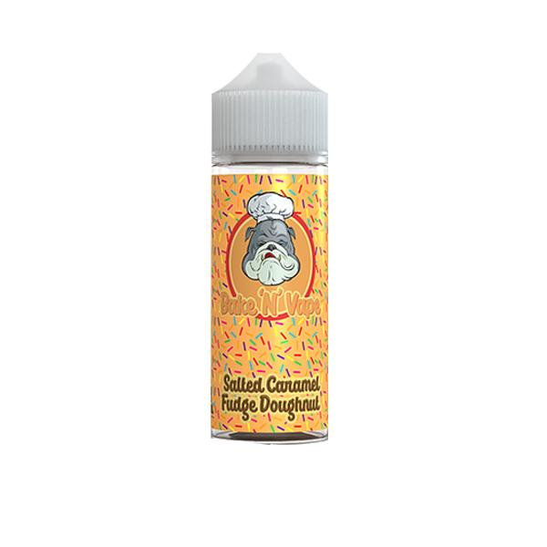 Bake 'N' Vape Bakery 100ml Shortfill E-liquid, Cloud Vaping UK