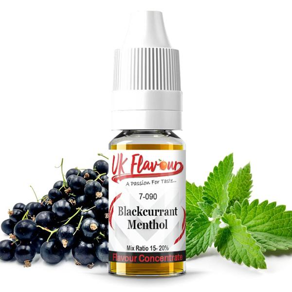 UK Flavour Menthol Range Concentrate 0mg 10 x  10ml E-liquid, Cloud Vaping UK