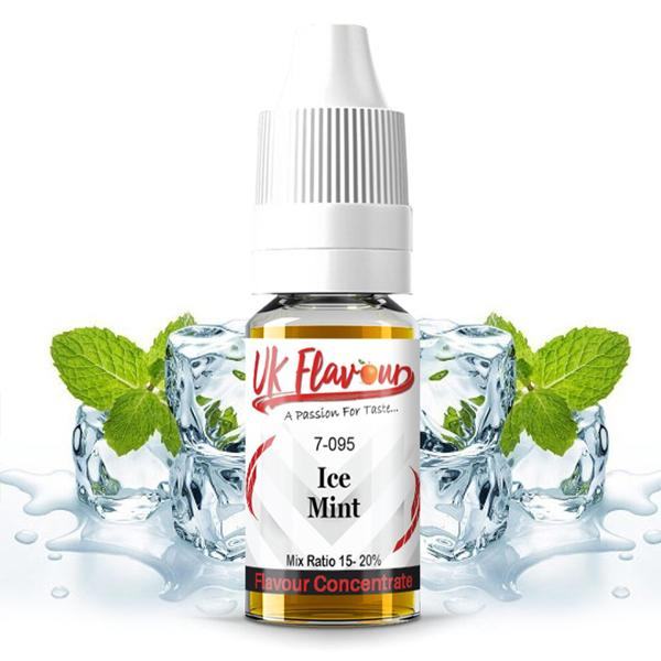 UK Flavour Menthol Range Concentrate 0mg 30ml E-liquid, Cloud Vaping UK