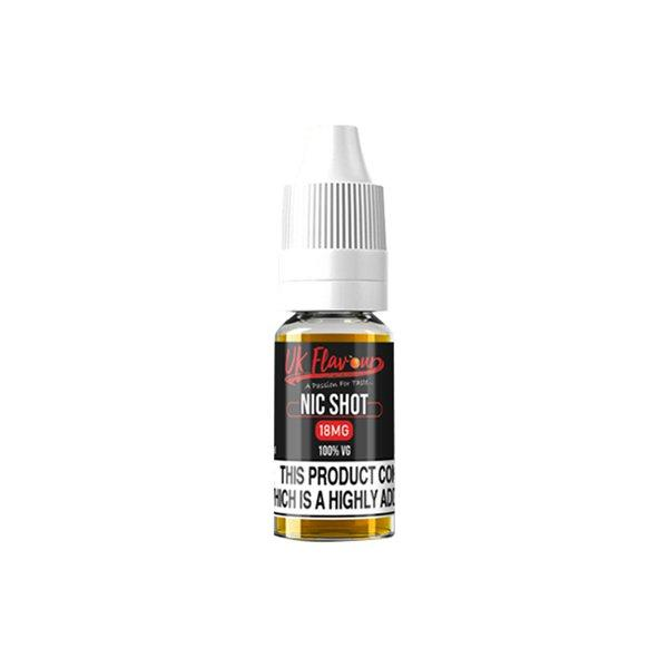 UK Flavour Nic Shot 18mg 10ml E-liquid, Cloud Vaping UK