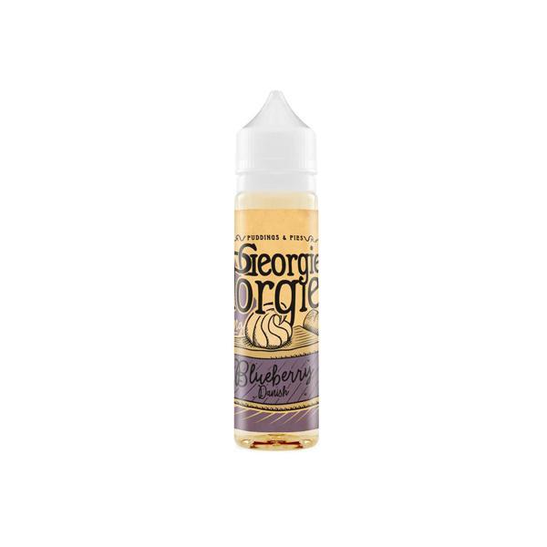 Georgie Porgie 0mg 50ml Shortfill E-liquid, Cloud Vaping UK