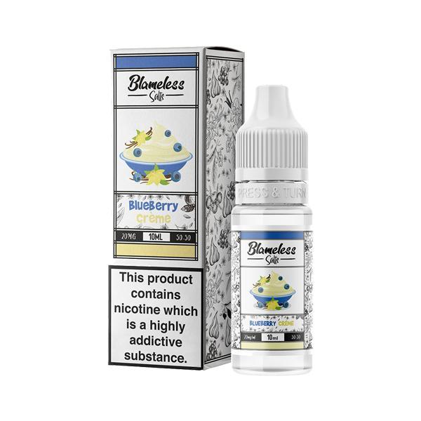 Blameless Juice Co. 10ml 20Mg Nic Salts E-liquid, Cloud Vaping UK