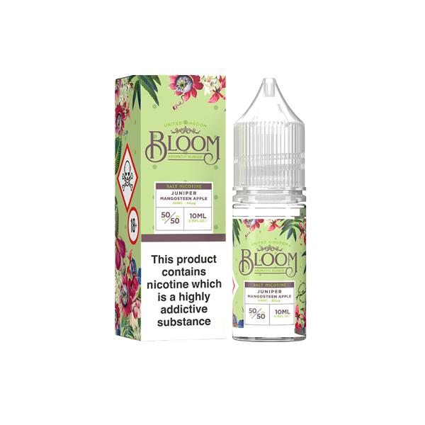 Bloom Nic Salt 10ml 10Mg E-liquid, Cloud Vaping UK
