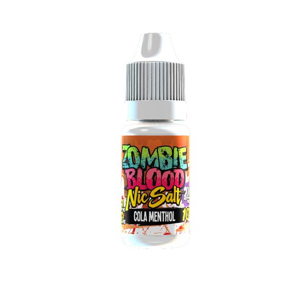 Zombie Blood 10Mg Nic Salts 10ml E-liquid, Cloud Vaping UK