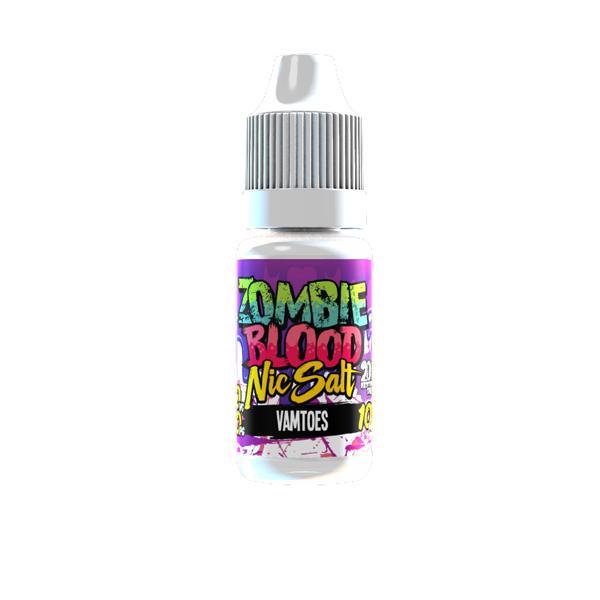 Zombie Blood 20Mg Nic Salts 10ml E-liquid, Cloud Vaping UK