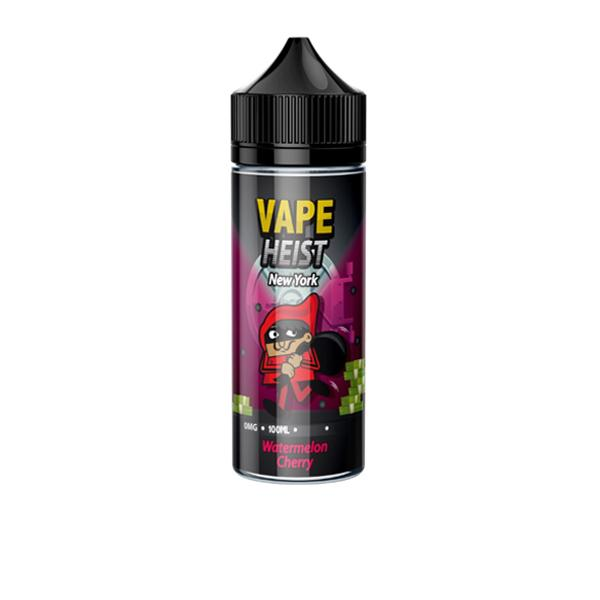 Vape Heist 100ml Shortfill E-liquid, Cloud Vaping UK