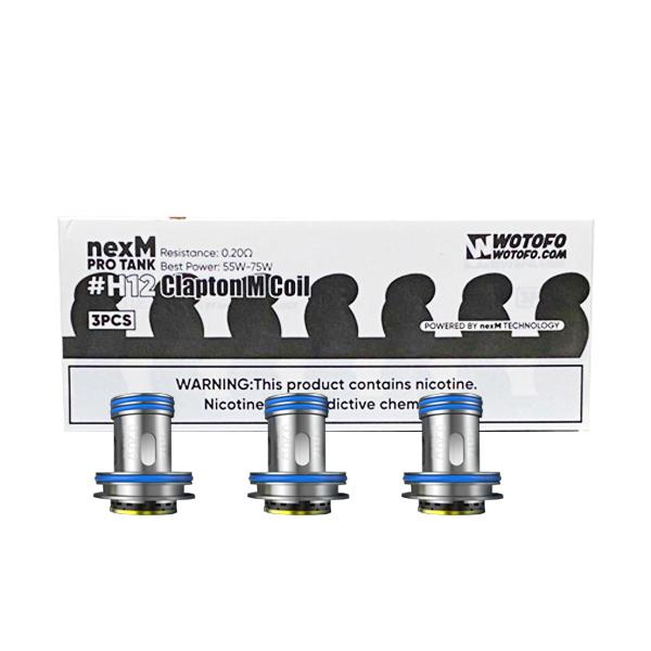 Wotofo Replacement Coils for nexMesh Pro Tank – #H12 /#H13/ #H15, Cloud Vaping UK