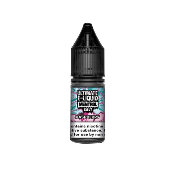Ultimate E-liquid Menthol Nic Salts 10ml 20Mg E-liquid, Cloud Vaping UK