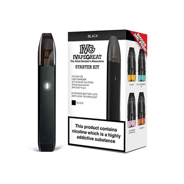 I VG Starter Kit + 4 Flavour Pods, Cloud Vaping UK