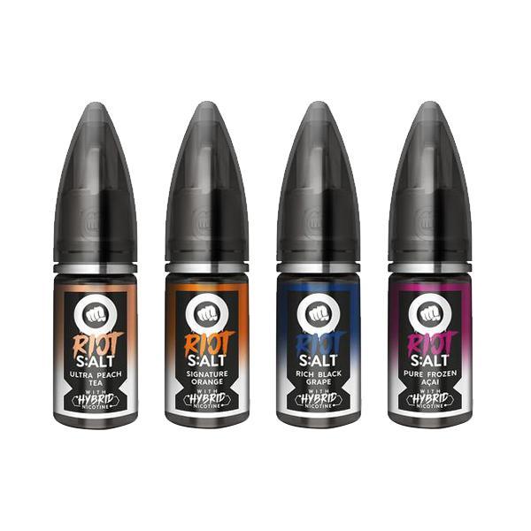 Riot Squad Black Edition 10Mg Nic Salts 10ml E-liquid, Cloud Vaping UK