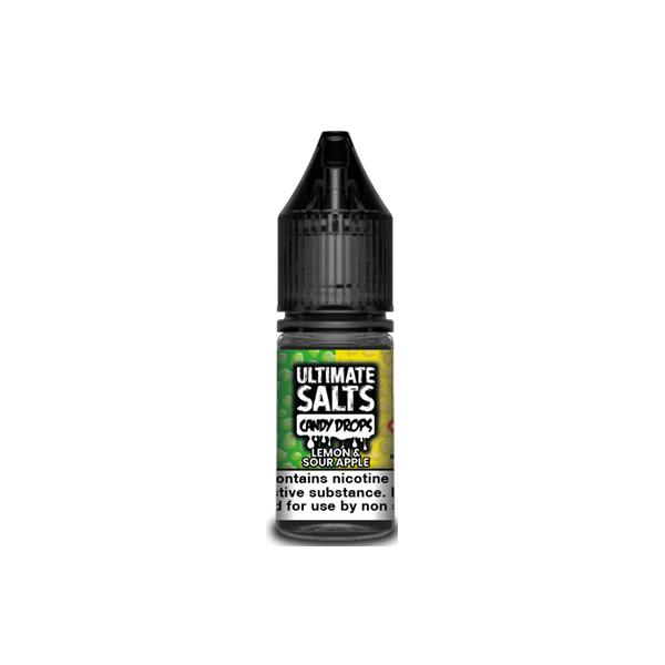 Ultimate Puff Salts Candy Drops 10ML 20Mg Flavoured Nic Salts, Cloud Vaping UK