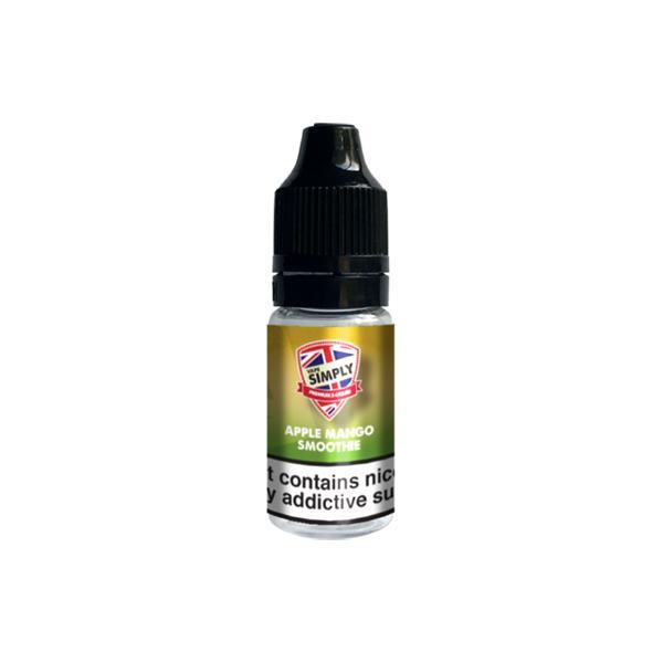 Vape Simply 6mg 10ml E-liquid, Cloud Vaping UK