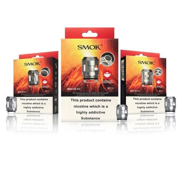 Smok TFV Mini V2 Coils 0.2 ohm A2 (3-Pack), Cloud Vaping UK
