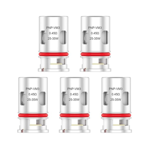 Voopoo PnP-VM3 0.45ohm Mesh Coils (5 Pack), Cloud Vaping UK