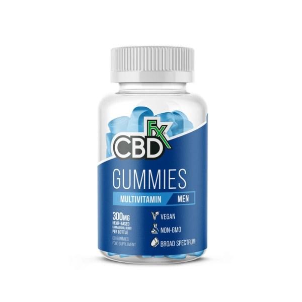 CBDfx Gummies – MENS Multivitamin (Jar of 60), Cloud Vaping UK