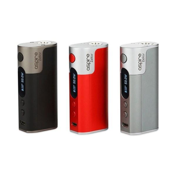 Aspire Zelos 50w Box Mod, Cloud Vaping UK