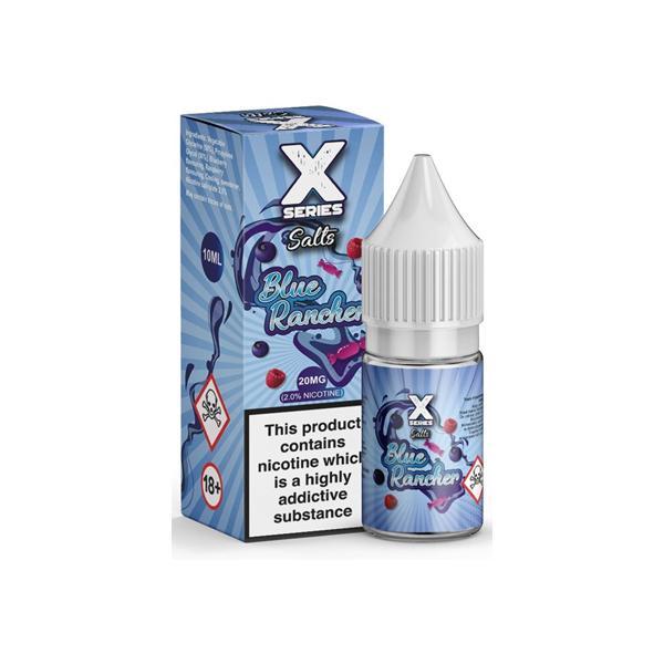 X-Series Nic Salt 10ml 20Mg E-liquid, Cloud Vaping UK