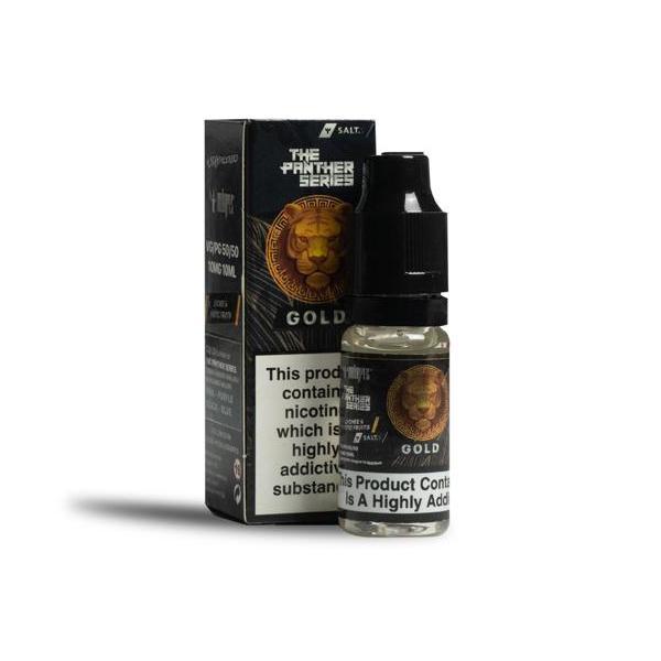 Gold by Dr Vapes 10ml Nic Salt 20Mg E-liquid, Cloud Vaping UK