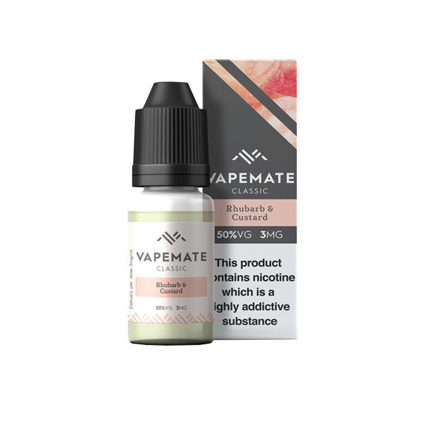 Vapemate Classic 0mg 10ml E-Liquid (70VG/30PG), Cloud Vaping UK