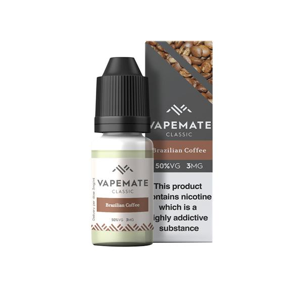 Vapemate Classic 3mg 10ml E-Liquid (70VG/30PG), Cloud Vaping UK