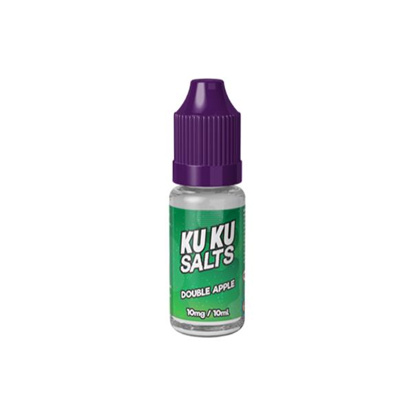 Kuku Salts 10ml Nic Salts 10Mg E-liquid, Cloud Vaping UK
