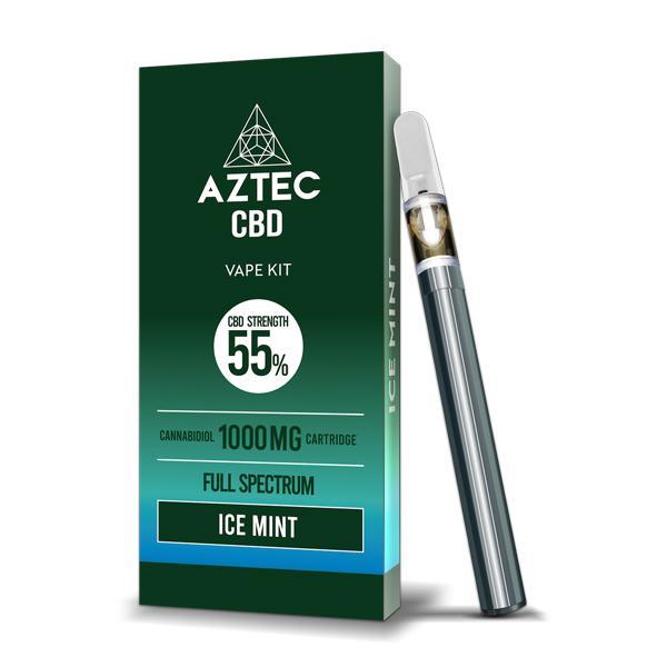 Aztec CBD 1000mg Vape Kit – 1ml, Cloud Vaping UK