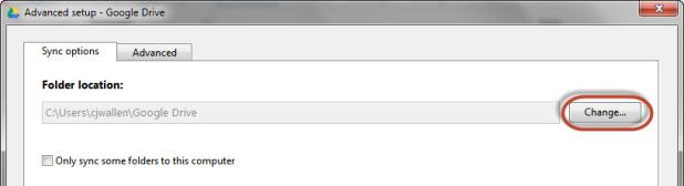 Google-Drive-Change