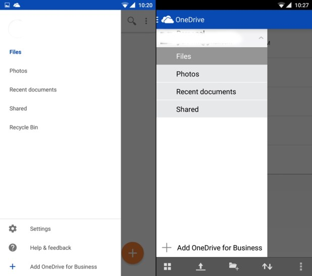 OneDrive---beta-vs-official