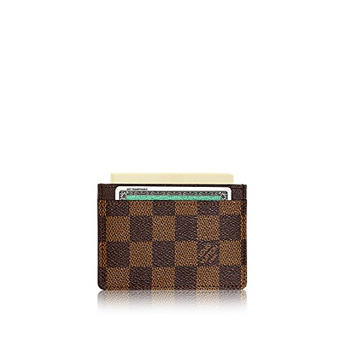 Louis Vuitton Damier Ebene Canvas Card Holder