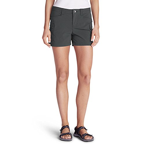 Eddie Bauer Women's Horizon Cargo Shorts, Dk Smoke Regular 8