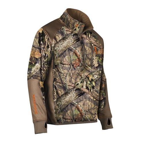 Browning Hell's Canyon Performance Fleece 1/4 Zip Jacket, Mossy Oak Break-Up Country, Large