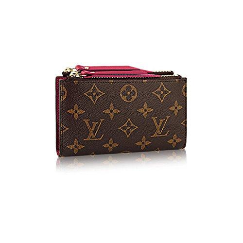 7f24a13f184 Authentic Louis Vuitton Monogram Canvas Adele Compact Wallet Article ...