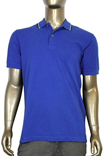 Gucci Men's Blue Cotton Jersey Polo Golf Shirt (2XL)