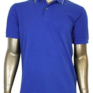 Gucci Men's Blue Cotton Jersey Polo Golf Shirt (2XL)