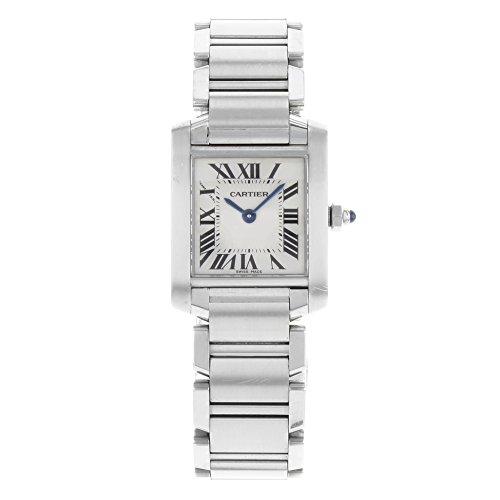 Cartier Women's Tank Francaise Stainless Steel Bracelet Watch
