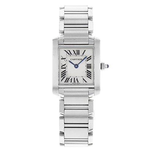 Cartier Women's Tank Francaise Stainless Steel Bracelet Watch