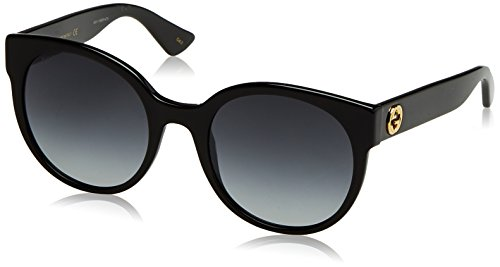 Gucci Black Round Sunglasses Lens Category 3 Size 54mm