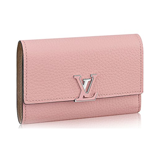 Louis Vuitton Taurillon Leather Capucine Compact Wallets Article: M62156