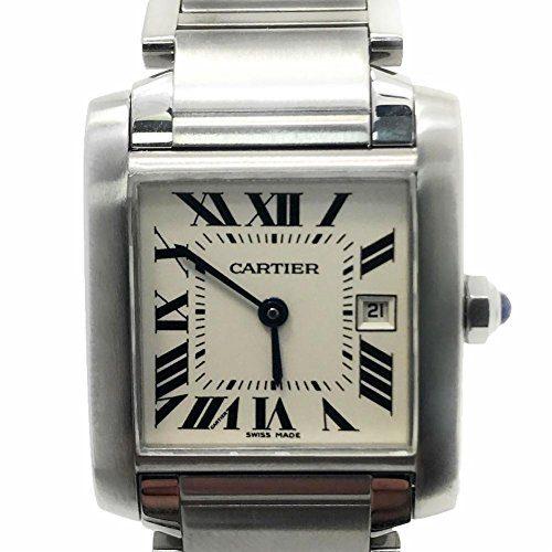 Cartier Tank Francaise swiss-quartz mens Watch (Certified Pre-owned)