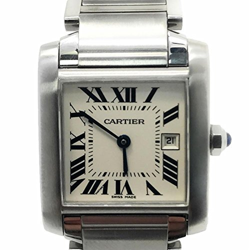 Cartier Tank Francaise swiss-quartz mens Watch (Certified Pre-owned)