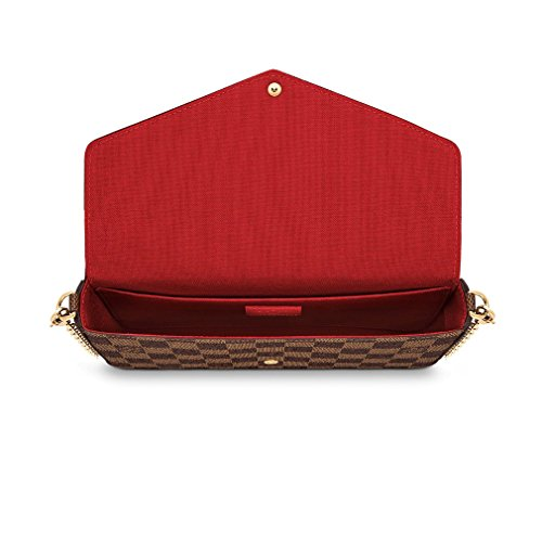 23807a4a3e44 Home   Shop   Women   Accessories   Handbags   Wallets   Louis Vuitton  Damier Ebene Pochette Félicie Wallet Clutch Article