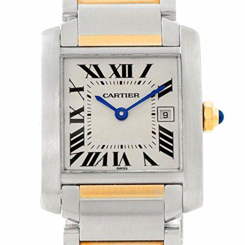 Cartier Tank Francaise quartz female Watch (Certified Pre-owned)