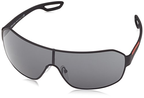 Prada Sport Visor Sunglasses, Black, 80mm