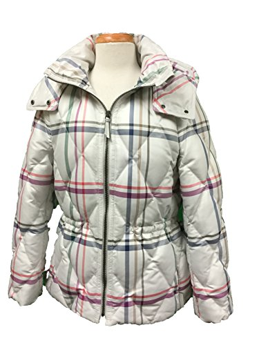 102d8b3e4 Coach Tattersall Short Legacy Puffer Without Fur Jacket Coat Multi-Color  Medium