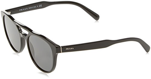 Prada Rectangle Sunglasses, Black, 53mm